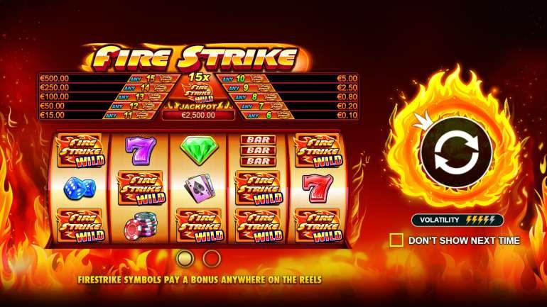 Fire strike огненный удар игровой автомат онлайн изменил boom