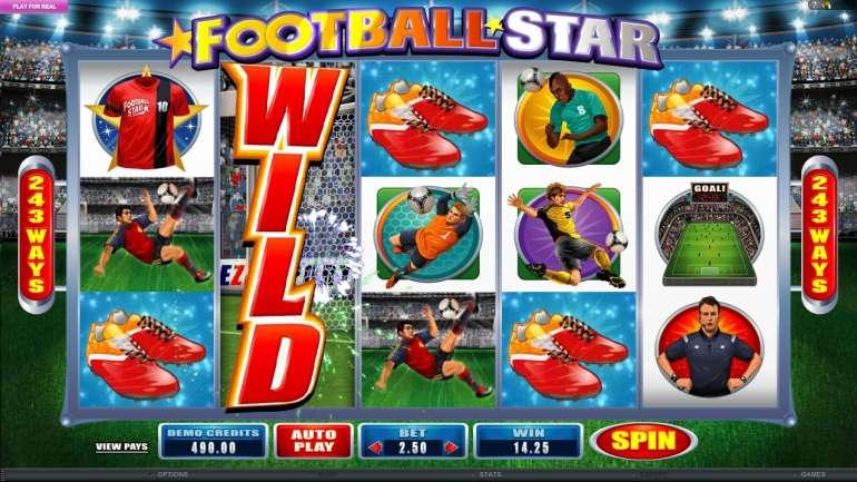 Бесплатный игровой автомат football star играть онлайн