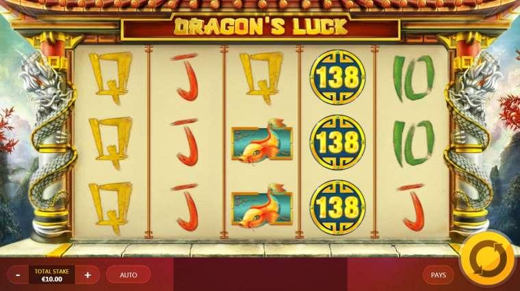 Dragons luck удача дракона игровой автомат ставок