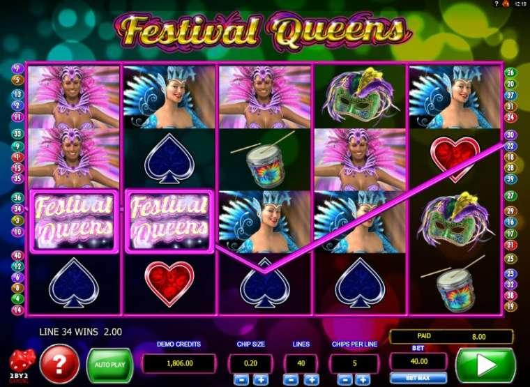 Смотреть онлайн festival queens королевы фестиваля игровой автомат украина
