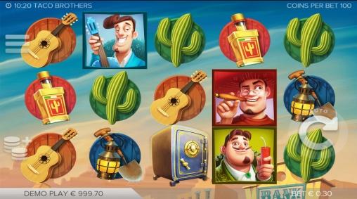 Taco brothers братья тако игровой автомат игра joycasino